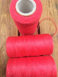 Linen thread red / linnen draad rood