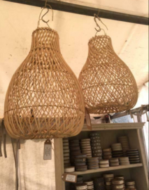 Rotan lamp medium Kleur Naturel