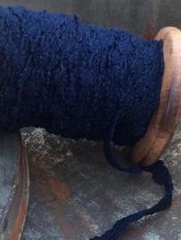 Blauw Kant 100% katoen ... Blue lace 100 % cotton