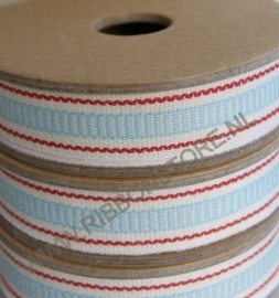 Aqua ladder stripe