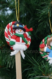 X MAS hanger Lolly  with bird