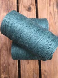 Linen thread green / linnen draad groen