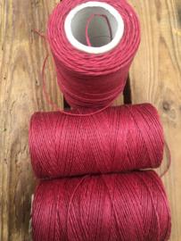 Linen Thread maroon / linnen draad bordeauxrood