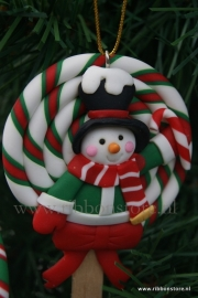X MAS hanger Lolly  with candy cane