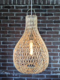 Rotan lamp Large Kleur Naturel
