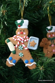 X MAS hanger Gingerbread with baking sheet