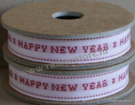 XS12750 Happy New Year/ Kruissteek lint