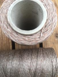 Linen Thread brown / linnen draad bruin