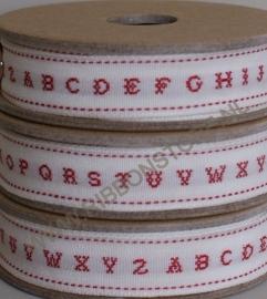 XS12735 Alphabet / Kruissteek lint
