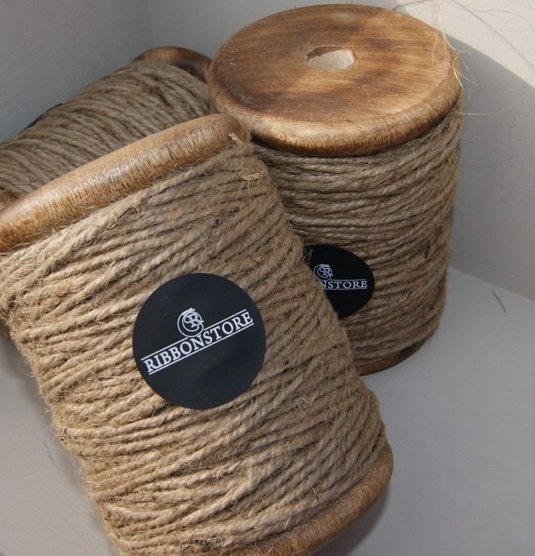 Wooden Spool  String Large  3 threads