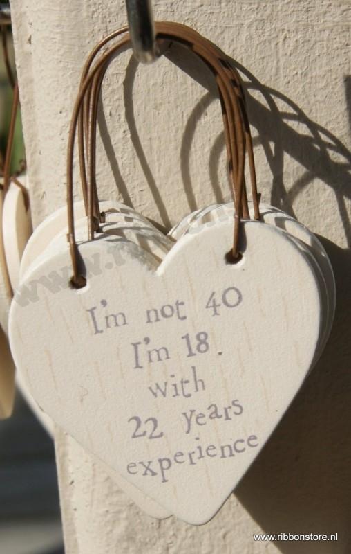 I´m not 40