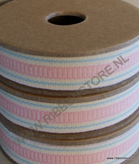 Pink ladder stripe