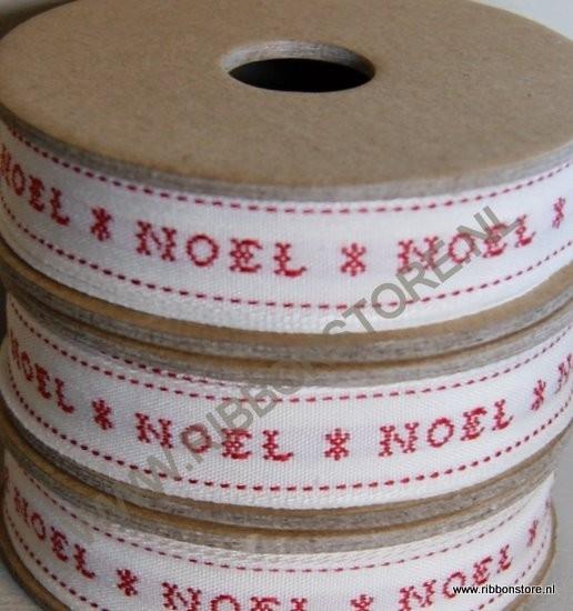 Noel / Kruissteek kerst lint