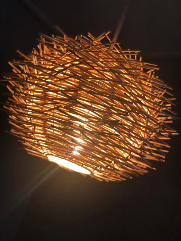 Stekel model rotan hanglamp 30 cm