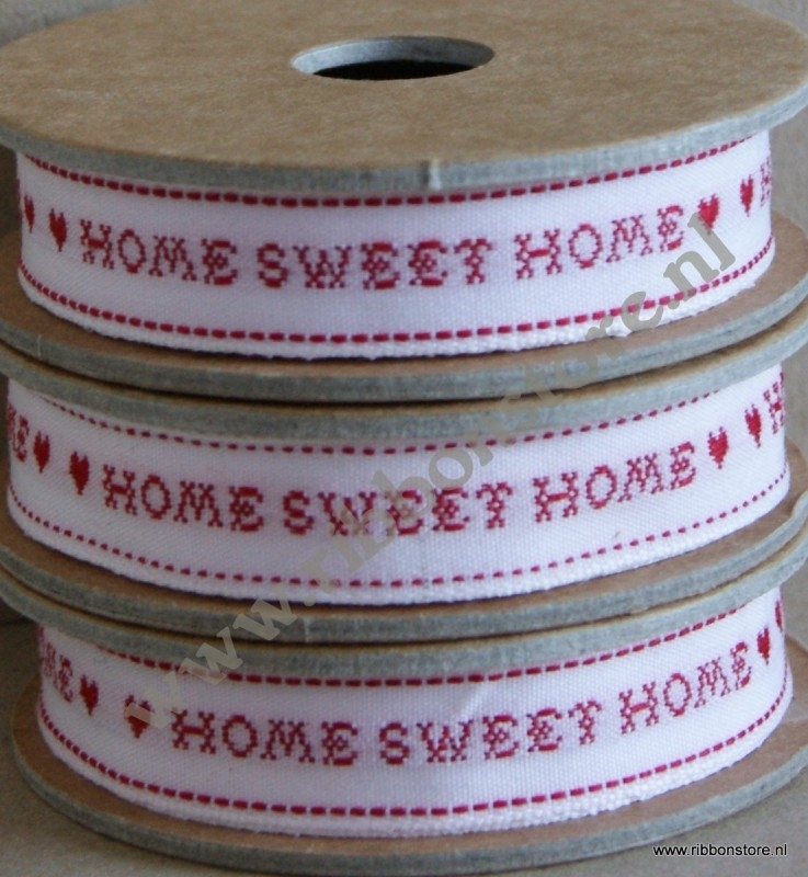 XS12715 Home sweet home / Kruissteek lint