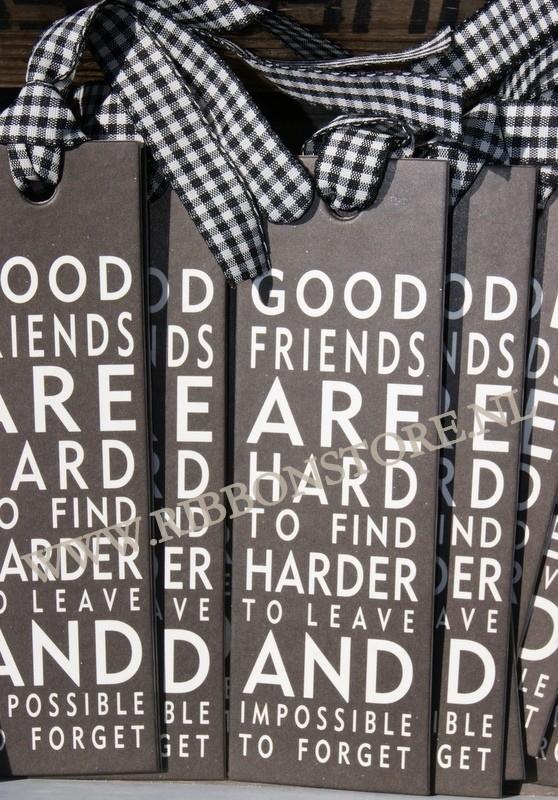 Label/ Bookmark Good Friends