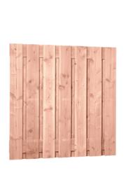 Douglas Plankenscherm 15-planks (onbehandeld)