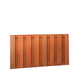 Hardhouten plankenscherm 15 planks