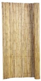 Bamboescherm op rol gelakt 180x180