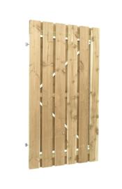Deurframe met planken verticaal 100x180