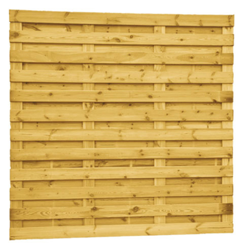 Plankenscherm 21-planks 180x180 (1,5x12)