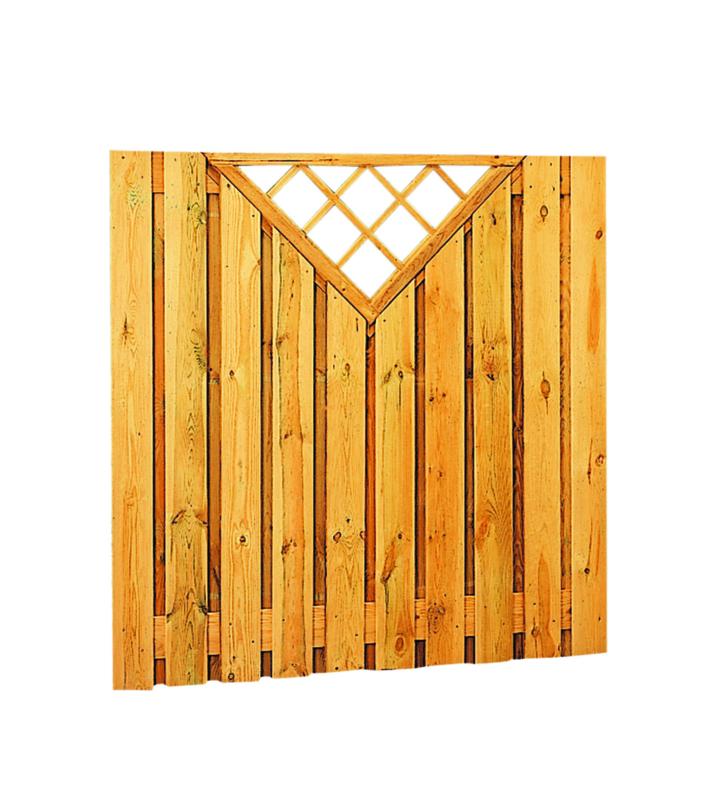 Plankenscherm 21-planks 180x180