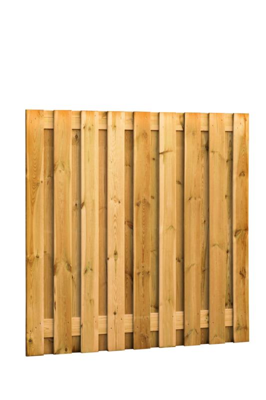 Plankenscherm 19-planks