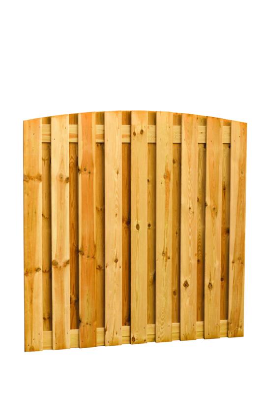 Toogplankenscherm 19-planks 180x180