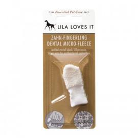 Lila Loves It Vingertandenborstel micro-fleece
