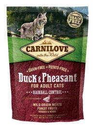 Carnilove Duck & Pheasant Hairball 400gr