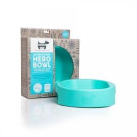 Hero Bowl antibacteriële eet- en drinkbak Sea Glass