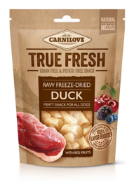 Carnilove Raw Freeze-Dries Duck With 5 Red Fruits