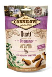 Carnilove Soft Snack Quail with Oregano 200gr