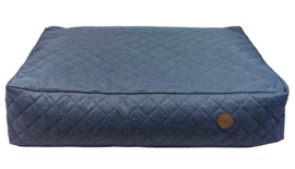 Jack and Vanilla Checkmate Hondenbed Blauw