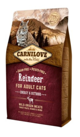 Carnilove Reindeer Energy/Outdoor 2KG