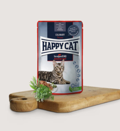 Happy Cat Meat in Sauce Culinary Voralpen-Rind 85gr