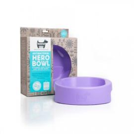 Hero Bowl antibacteriële eet- en drinkbak Lavender Blush
