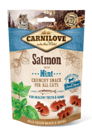 Carnilove Snack Kat Crunchy Salmon with Mint 50gr