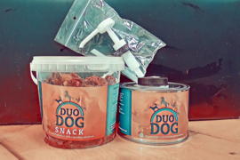 Duo Dog Actiepakket: DUO DOG 500ml + DUO DOG snacks + doseerpompje