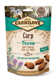 Carnilove Soft Snack Carp with Thyme 200gr