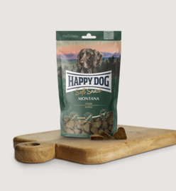 Happy Dog Hondensnoepjes Soft Snack Montana (paard)