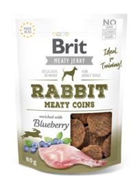 Brit Jerky Meaty Coins Rabbit