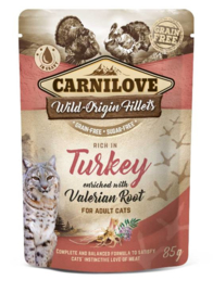 Carnilove Cat Pouch Turkey 85gr
