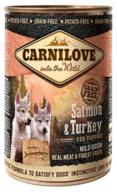 Carnilove Salmon & Turkey pup 400gr