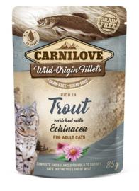 Carnilove Cat Pouch Trout 85gr