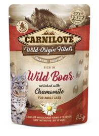 Carnilove Cat Pouch Wild Boar 85gr