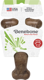 Benebone Wishbone Bacon Flavor Small