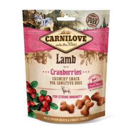 Carnilove Crunchy Snack Lamb with Cranberry 200gr