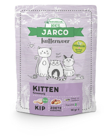Jarco Natural Kat Kitten met vers vlees  400gr