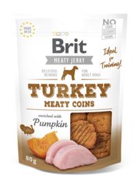 Brit Jerky Meaty Coins Turkey